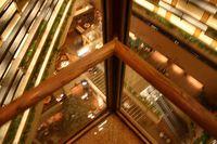 Hotel elevator view