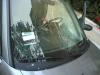 Someone smashed my windshield last night, pt. 2