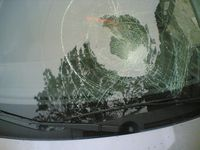 Someone smashed my windshield last night, pt. 1